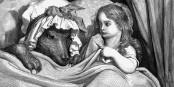 Même le Grand Méchant Loup a de traits sympathiques chez Gustave Doré, m'enfin, presque... Foto: Wikimedia Commons