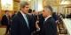 Le président suisse, Didier Burkhalter (à droite, avec John Kerry), s'est proposé comme médiateur dans le conflit ukrainien. Une bonne idée. Foto: US Department of State / Wiki Commons