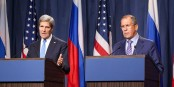 Un accord sur l'Ukraine, oui. Mais peut-on faire confiance à John Kerry et Sergej Lavrov ? Foto: U.S: Department of State / Wikimedia Commons