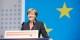 """Angela Merkel a beau sourire - le SPD fait le plus gros du travail dans la """"GroKo"""", mais c'est elle qui en recolte les fruits. Foto: (c) CDU Deutschland / Laurence Chaperon"""