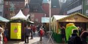 Le Marché de Pâques à Freiburg. Venez et contribuez à en faire une tradition ! Foto: Andreas Schwarzkopf / Wikimedia Commons