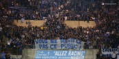 La rupture entre le Racing et ses supporteurs s'est manifestée vendredi à la fin du match. Foto: © Phil Bergdolt / LAFA