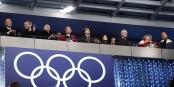 Na, Hauptsache, die Herren Putin und Bach sind mit sich und der Wlt zufrieden... Foto: premier.gov.ru / Wikimedia Commons