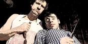 Blutwurst bleibt Blutwurst, und die Messer sind gewetzt: Antonio Denscheilmann (links) und Jochen Kruß. Foto: Immoralisten