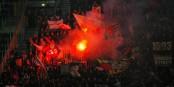"""Comme ici lors du match à Salzbourg, les """"supporteurs"""" du FC Bâle deviennent le plus grand problème du club. Foto: Werner100359 / Wikimedia Commons"""