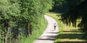 Südtirols Radwege sind voller mystischer Hinweise ...