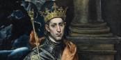 König Saint Louis wurde sich ein Loch in die Krone freuen, wenn er wüsste, dass es 2014 noch Franzosen gibt, die sich die Monarchie zurück wünschen. Foto: Oakenchips / Louvre Museum / Wikimedia Commons