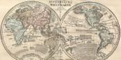 Alle paar Jahre muss die Weltkarte neu gezeichnet werden. Es ist wohl wieder mal so weit. Foto: Wikimedia Commons