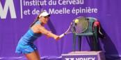 Déterminée et en grande forme - Monica Puig a largement mérité son premier titre WTA. Foto: © Kai Littmann