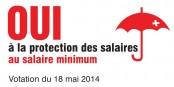 La Suisse a loupé une occasion d'inventer un nouveau niveau social. Foto: www.mindestlohn-initiative.ch