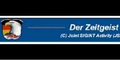 """L'aigle américain sur fond du drapeau allemand - NSA et BND travaillent main dans la main sous le leitmotiv du """"Zeitgeist"""" (l'esprit de l'époque). Quel cynisme. Foto: Public Domain"""