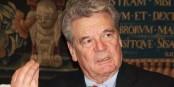 """Le président allemand Joachim Gauck a trouvé le mot juste pour désigner l'extrême-droite du NPD - """"cinglés"""". Foto: Michael Lucan / Wikimedia Commons / CC-BY 3.0"""