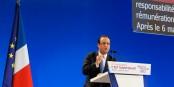 Nur noch 3 % der Franzosen wollen, dass François Hollande 2017 erneut kandidiert. Ein Präsident am Ende. Foto: Garitan / Wikimedia Commons