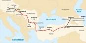 """Le nouveau pipeline de gaz """"Nabucco"""" contourne la Russie - une alternative. Foto: Nabucco Gas Pipeline"""