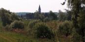 Paradisiaque, le village de Rheinhausen près de Rust. Pourtant, il abrite l'une des plus grandes installations de surveillance en Allemagne. Foto: AnRo0002 / Wikimedia Commons