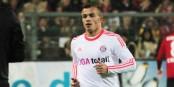 """Xerdan Shaqiri a marqué les trois buts suisses lors du 3-0 contre l'Honduras qui qualifie la """"Nati"""" pour les huitièmes. Foto: © KL"""