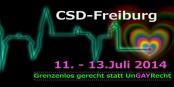 Dieses Wochenende findet in Freiburg der Christopher Street Day statt. Für Toleranz - gegen Diskriminierung. Foto: CSD / https://www.facebook.com/CSDFreiburg