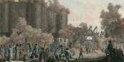 Um die Bastille wurde wohl deutlich weniger gekämpft als dargestellt. Foto: Balthasar Anton Dunkel / BNF / Wikimedia Commons