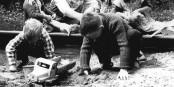Les services secrets allemands et américains se comportent comme des enfants dans un bac à sable. Foto: Bundesarchiv Bild 183-D0810-0009-005 / Wikimedia Commons