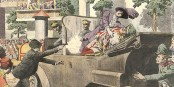L'assassinat du dauphin autrichien Franz Ferdinand allait déclencher la Grande Guerre. Foto: Le Petit Journal / Bibliothèque Nationale de France / Wikimedia Commons
