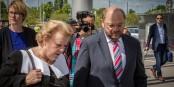 Catherine Trautmann (ici avec Martin Schulz) vient de rejoindre les rangs du Centre Européen de la Consommation. Foto: © Claude Truong-Ngoc / Eurojournalist(e)
