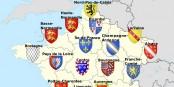 Tiens, les régions Alsace, Lorraine et Champagne-Ardennes ont un trait en commun. Sur leurs blasons respectifs. C'est tout. Foto: Plavius / Wikimedia Commons / CC-BY-SA 3.0