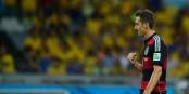 Geschafft - Miro Klose nach seinem 16. WM-Tor im legendären Halbfinale gegen Brasilien (7:1). Foto: Agência Brasil / Wikimedia Commons / CC-BY 3.0br