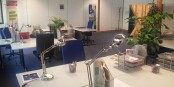 Ces bureaux sont désormais disponibles pour les créateurs badois et alsaciens. Foto: www.kioskoffice.eu
