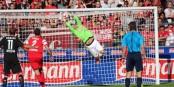 Le gardien international suisse Roman Bürki a livré un grand match samedi à Freiburg. Foto: © Kai Littmann / Eurojournalist(e)