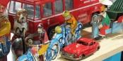 Wer meint, dass Spielzeug zum Spielen für Kinder gedacht ist, der wird in Mulhouse eines Besseren belehrt. Foto: Messe Mulhouse