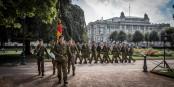 Après 25 ans de la Brigade Franco-Allemande, plus personne ne s'étonne de voir des soldats allemands à Strasbourg. Foto: Claude Truong-Ngoc / Eurojournalist(e)