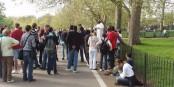 """Le """"Speaker's Corner"""" au Hyde Park à Londres est dédié à l'expression libre. Eurojournalist(e) aussi. Tribune de Frédéric Le Jéhan. Foto: David Hawgood / Wikimedia Commons / CC-BY-SA 2.0"""