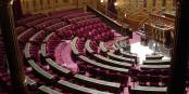 So sehen die Sitze im französischen Senat aus. Gut gepolstert, gut dotiert und irgendwie anachronistisch. Foto: FLLL / Wikimedia Commons / CC-BY-SA 3.0