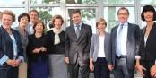 Le Conseil d'Administration du CEC à Kehl - résolument tourné vers l'Europe. Foto: © ZEV/KL