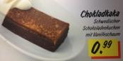 """Einen weichen, klebrigen und braunen Haufen mit Namen """"Chokladkaka"""" essen? Kostet Überwindung... Foto: Karin Keller"""