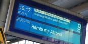 Les usagers des trains en Allemagne doivent s'habituer à ce type d'affichage ces prochains temps. Foto: Danny König / www.pixelio.de