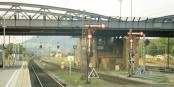 """So sieht es am Wochenende an den deutschen Bahnhöfen aus. Leer. Claus Weselsky benimmt sich wie ein """"Bahn-Taliban"""". Foto: Peter Kappus / Wikimedia Commons / CC-BY-SA 3.0"""