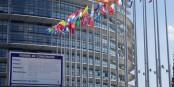 """Ob die """"Baustelle Europa"""" in Straßburg fertiggestellt werden kann? Oder geht alles nach Brüssel? Foto: Michael Magercord"""