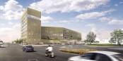 """Voilà """"Rhena"""", le nouveau centre hospitalier qui verra le jour à Strasbourg - à vocation transfrontalière. Foto: www.cliniquedestrasbourg.fr"""