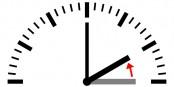 Um 3 Uhr werden die Uhren auf 2 Uhr zurückgestellt - à 3 heures, l'heure doit être reculée à 2 heures. Foto: Daniel FR, Plenz / Wikimedia Commons / CC0