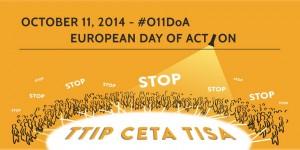 """Am Samstag sagt ganz Europa """"Nein"""" zu den geplanten Handelsabkommen. Foto: www.stop-ttip-ceta-tisa.eu/de"""