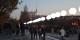 Cette frontière aux lumières symbolisait le Mur de Berlin. Avant de s'envoler vers le ciel. Foto: Rolf Krahl (Rotkraut) / Wikimedia Commons / CC-BY-SA 3.0de