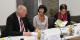 Verbraucherschützer unter sich: Ulrich Kelber, Martine Mérigeau, Elvira Drobinski-Weiß. Foto: (c) ZEV