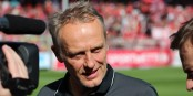 Avant le match à Cologne, le coach fribourgeois Christian Streich était assez détendu. Savait-il ce qui allait de passer ? Foto: Eurojournalist(e)