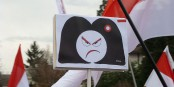"""""""Elise"""" n'est pas contente. Préfère-t-elle garder son """"mille-feuilles institutionnel"""" ? Foto: Paralacre / Wikimedia Commons / CC0"""