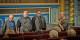 Le journaliste Hans-Joachim Lang, Emmanuel Heyd, Raphael Toledano et Freddy Raphael lors de l'avant-première du film à Strasbourg. Foto: (c) Claude Truong-Ngoc