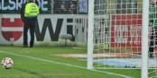 Dernières secondes du match - le ballon de Joselu en route vers le 2-2... quel déception ! Foto: Eurojournalist(e)