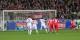 2e minute au Schwarzwaldstation. Pénalty, Darida tire, Drobny arrête le tir et on aurait pu siffler la fin du match. Foto: Eurojournalist(e)