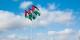 Die Flaggen des Palästinenserstaats werden immer offizieller - ein Land nach dem anderen erkennt den Palästinenserstaat an. Foto: Joi Ito Flickr / Wikimedia Commons / CC-BY-SA 2.0