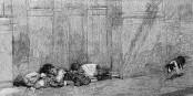 """Un enfant sur six vit en-dessous du seuil de la pauvreté en Allemagne. Le prix du """"succès"""". Foto: Wellcome Library London / Wellcomeimages.org / Wikimedia Commons / CC-BY-SA 4.0"""